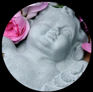 Grabpflege, Engel auf dem Grab