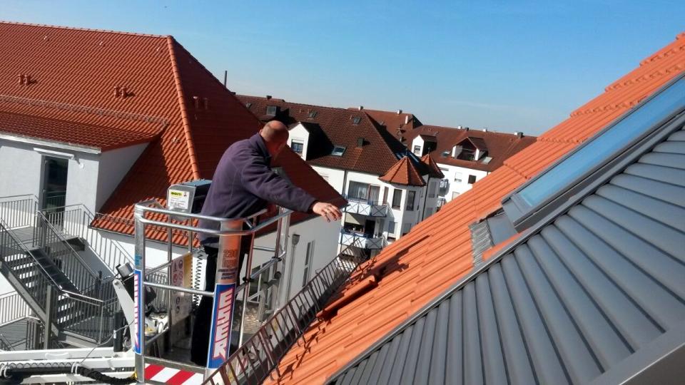 Dachziegel ersetzen